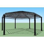 Icon Shelter Systems Inc - Hexagon Arbor PX26.5K-P4-20-90-150