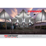 Serge Ferrari - PRECONTRAINT® 1002S / 1202 S /1302 S / 1502 S back PVDF