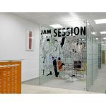 Avanti Systems - Elite™ Freestanding Glass Partition System