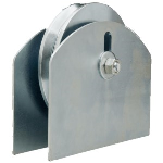 "D&D Technologies USA, Inc. - CI2720 / 6"" Hardcore Gate Wheel with Plate for 2"" Gate Frame"