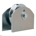 "D&D Technologies USA, Inc. - CI2515 / 4"" Hardcore Gate Wheel with Plate for 1 1/2"" Gate Frame"