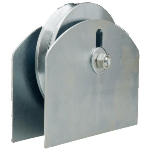 "D&D Technologies USA, Inc. - CI2715 / 6"" Hardcore Gate Wheel with Plate for 1 1/2"" Gate Frame"