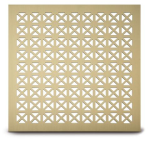 Architectural Grille - 206 Maltese Perforated Grille