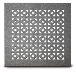 Architectural Grille - 217 Triangle & Clover Perforated Grille