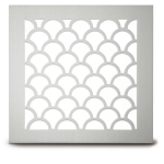 Architectural Grille - 221 Tear Drop Perforated Grille