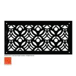 Architectural Grille - Frank Lloyd Wright® Signature Decorative Grille Collection - April Flowers
