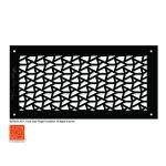 Architectural Grille - Frank Lloyd Wright® Signature Decorative Grille Collection - DeRhodes Facets