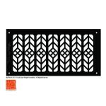 Architectural Grille - Frank Lloyd Wright® Signature Decorative Grille Collection - Floral