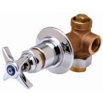 T&S Brass and Bronze Works, Inc. - Manual Faucets: Concealed Bypass Mixing Valves: B-1020