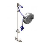 T&S Brass and Bronze Works, Inc. - Washdown Solutions: Hose Reel Systems: B-1433-04