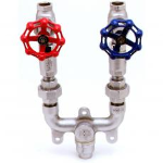 T&S Brass and Bronze Works, Inc. - Washdown Solutions: Washdown Stations: MV-0771-12C