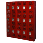 List Industries Inc. - Intramural Triple Tier Athletic Lockers
