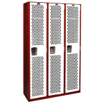 List Industries Inc. - Varsity Single Tier Athletic Lockers
