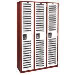 List Industries, Inc. - Athletic Team Fully-Framed All-Welded Lockers