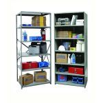 List Industries Inc. - Hi-Tech™ Industrial Shelving Open and Closed Shelving and Components