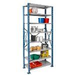 List Industries Inc. - H-Post™ High Capacity Shelving Good for Multilevels and Mezzanines.