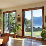Gerkin Windows & Doors - 4400Wi Series - Wood Interior Sliding Glass Vinyl Door