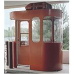 Par-Kut International, Inc - CURVUE Style Booth - Curved Glass Ends