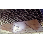 Acoustical Surfaces, Inc. - Woodcube™ Open Cell Acoustical Ceiling Louvers