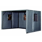 Acoustical Surfaces, Inc. - Machine Enclosures - Absorptive/Noise Barrier Quilted Curtains