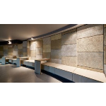 Acoustical Surfaces, Inc. - Envirocoustic™ Wood Wool Cementitious Wood Fiber Acoustic Ceiling and Wall Panels