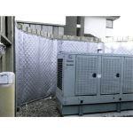 Acoustical Surfaces, Inc. - NOISE S.T.O.P.™ Exterior Sound Blankets - Reinforced
