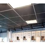 Acoustical Surfaces, Inc. - SQUARELINE™ Acoustical Metal Ceiling Tiles