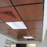 Acoustical Surfaces, Inc. - Fusion Perforated or Non-Perforated Wood Ceiling & Wall Panels
