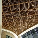 Acoustical Surfaces, Inc. - Cube Open-Cell Wood Ceiling Panels