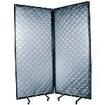 Acoustical Surfaces, Inc. - Quilted Curtain S.T.O.P. Portable Acoustical Enclosures and Screens