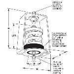 Acoustical Surfaces, Inc. - 30° Neoprene Swing Hangers
