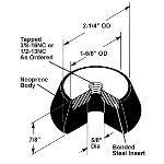 Acoustical Surfaces, Inc. - R & RL Neoprene Machine Leveling Mounts