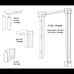 Best Roll-Up Door, Inc. - Swing Door Frames