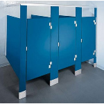 ASI Accurate Partitions - Solid Plastic Toilet Partitions