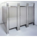 ASI Accurate Partitions - Stainless Steel Toilet Partitions