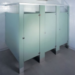 Accurate Partitions Corp. - Plastic Laminate Toilet Partitions