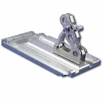 Alpine SnowGuards - PP235LFR Three- Pipe Height Adjustable Snow Guard and Base Plate for Ludowici French Tile
