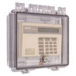 Safety Technology International, Inc. - Polycarbonate Enclosure with Enclosed Back Box and Interior Key Lock - STI-7500F