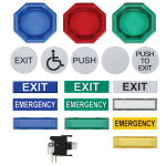 "Safety Technology International, Inc. - 2"" Universal Button - UB-2"
