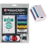 Safety Technology International, Inc. - Universal Button with Latching Timer - UB-1-LTUL
