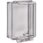 Safety Technology International, Inc. - Universal Stopper® without Horn Housing, Surface Mount, Clear - STI-13200NC