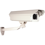 Safety Technology International, Inc. - CCTV Housing - Aluminum with heater, blower, sunshield and mounting bracket - STI-7100K