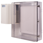 Safety Technology International, Inc. - Polycarbonate Protective Cabinet with A/C, Key Lock - STI-7550AC