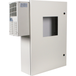 Safety Technology International, Inc. - Metal Protective Cabinet with AC/Heater with Window - STI-7560AH