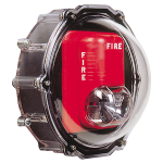 Safety Technology International, Inc. - Stopper® Dome for Strobe Only with Enclosed Back Box - Type 4X - STI-1229