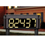Safety Technology International, Inc. - Solar Powered Lighted House Number - STI-30325