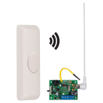 Safety Technology International, Inc. - Wireless Doorbell Button Alert with Single Channel Slave Receiver - STI-34609