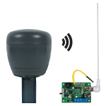 Safety Technology International, Inc. - Wireless Driveway Monitor (battery powered) with Single Channel Slave Receiver - STI-34159