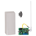 Safety Technology International, Inc. - Wireless Garage Sentry® Alert with Single Channel Slave Receiver - STI-34309