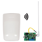 Safety Technology International, Inc. - Wireless Indoor Motion Detector Alert with Single Channel Slave Receiver - STI-34709
